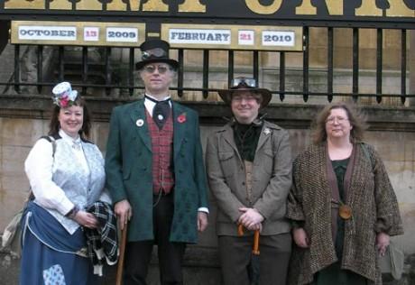 L to R: Lynne, me, Richard, Polly